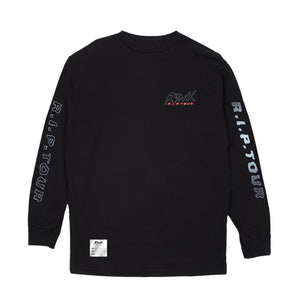 RYNX® | SKULL LONG-SLEEVE TEE (BLACK)