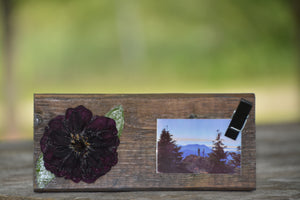Dark Dahlia Photo Frame