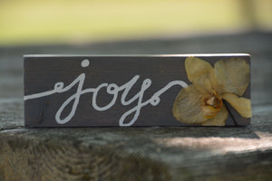 'Joy' Orchid Stick