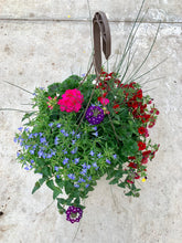 "Load image into Gallery viewer, 13"" Mixed Hanging Baskets"
