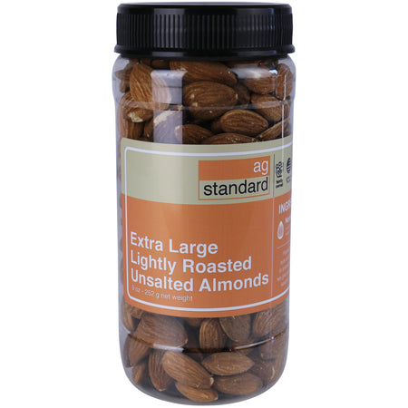 Dry Roasted Unsalted Almonds