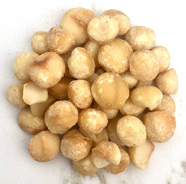Roasted Lightly Salted Macadamia Nut Halves
