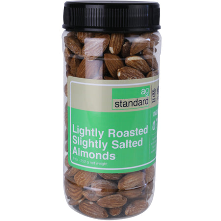 Dry Roasted Almonds with Sea Salt