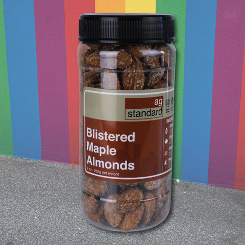 Blistered Maple Smoked Almonds