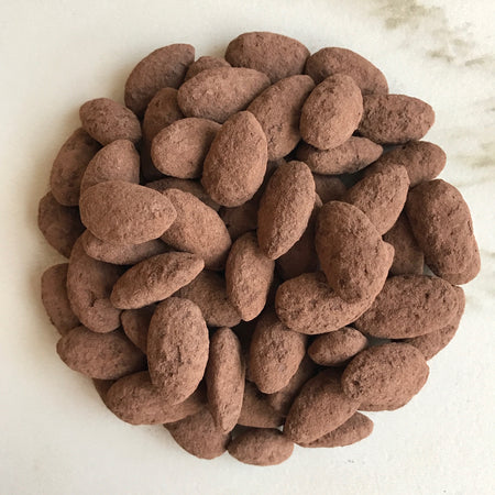 Dark Cocoa and Fleur de Sel Almonds