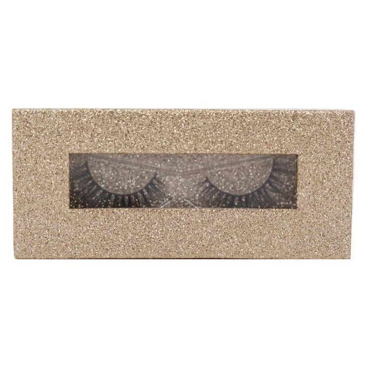 Magnetic Lash Box - 01 Glitter White Gold