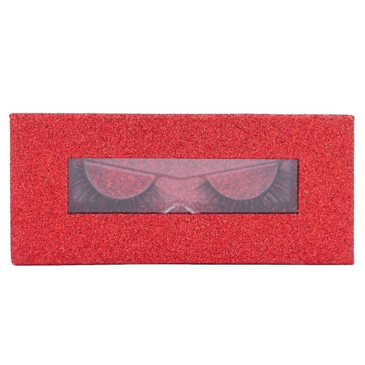 Magnetic Lash Box - 29 Glitter Red