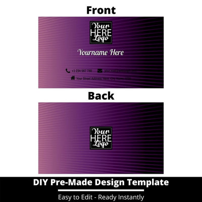Business Card Design Template 64
