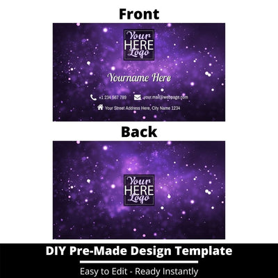 Business Card Design Template 205