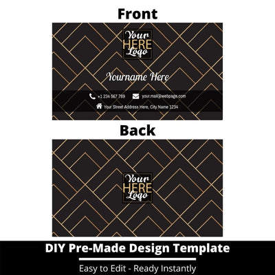 Business Card Design Template 227