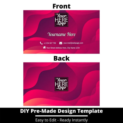 Business Card Design Template 232