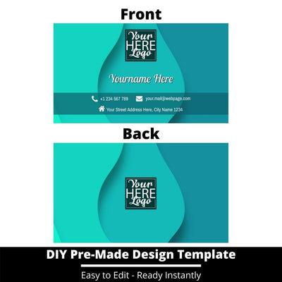 Business Card Design Template 233
