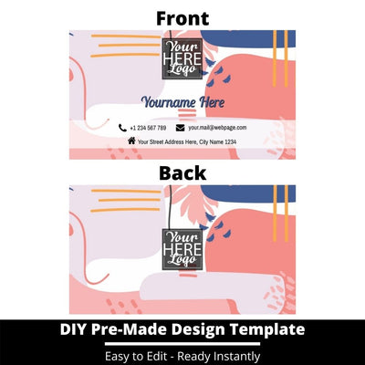 Business Card Design Template 237