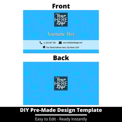 Business Card Design Template 241