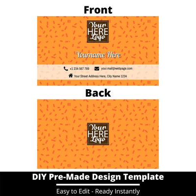 Business Card Design Template 244