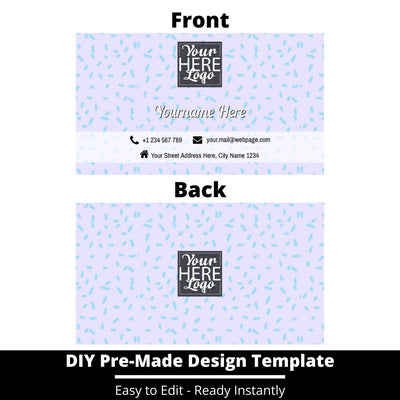 Business Card Design Template 246