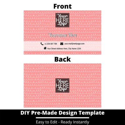 Business Card Design Template 247