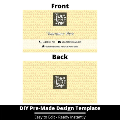 Business Card Design Template 248