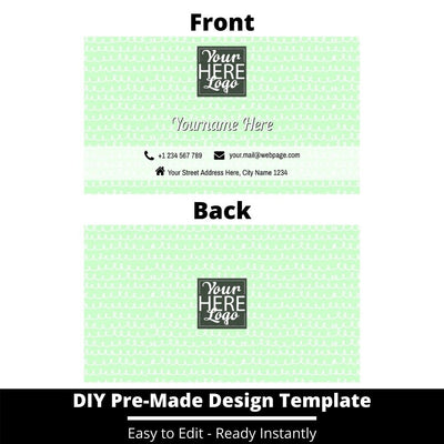 Business Card Design Template 249