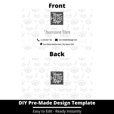 Business Card Design Template 250