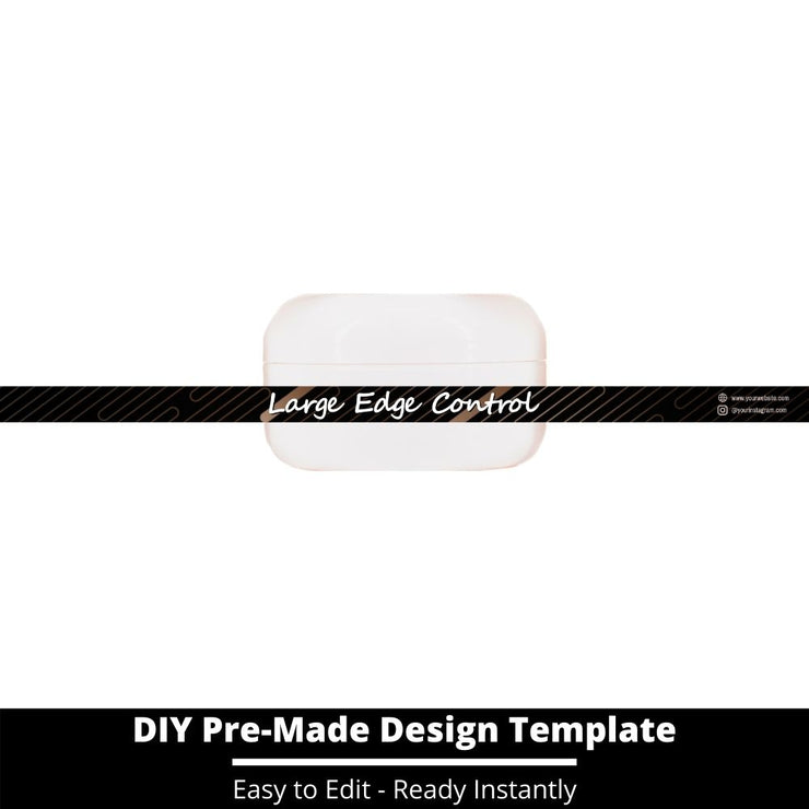 Large Edge Control Side Label Template 10