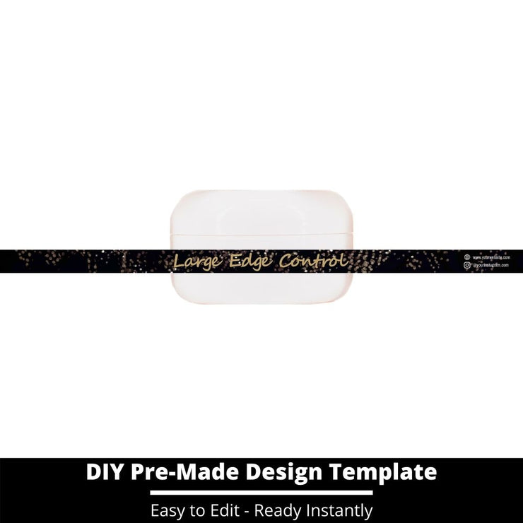 Large Edge Control Side Label Template 21
