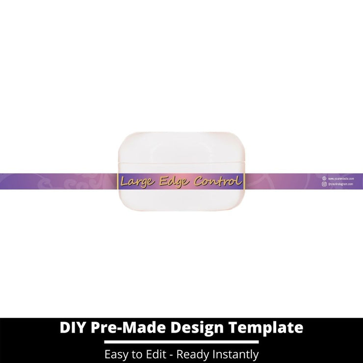 Large Edge Control Side Label Template 44
