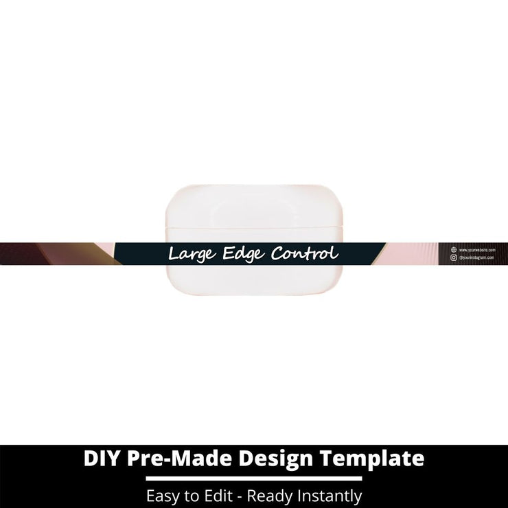 Large Edge Control Side Label Template 47