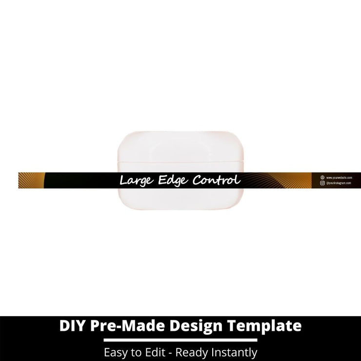 Large Edge Control Side Label Template 48
