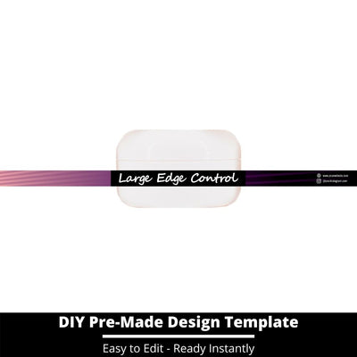Large Edge Control Side Label Template 64