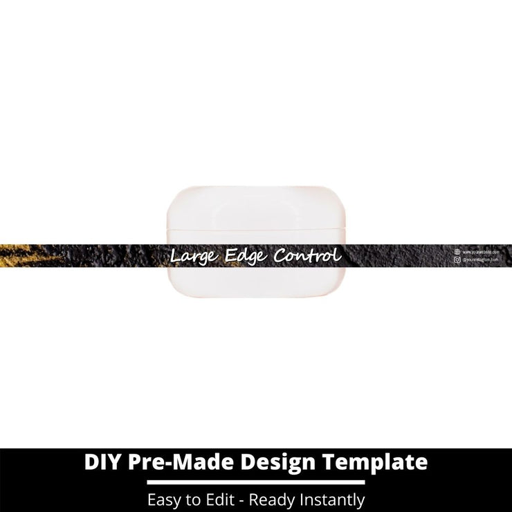 Large Edge Control Side Label Template 91