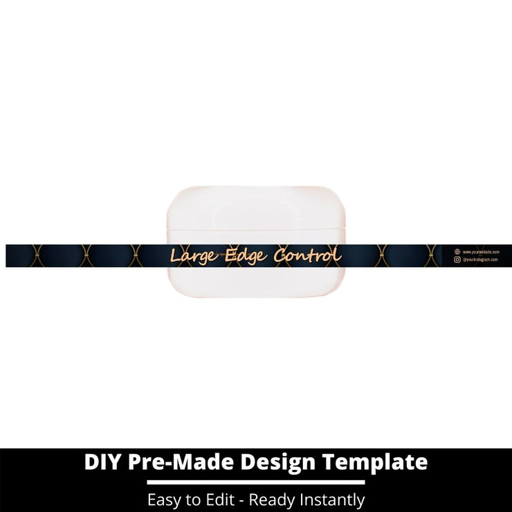 Large Edge Control Side Label Template 102