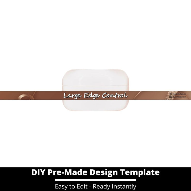 Large Edge Control Side Label Template 194