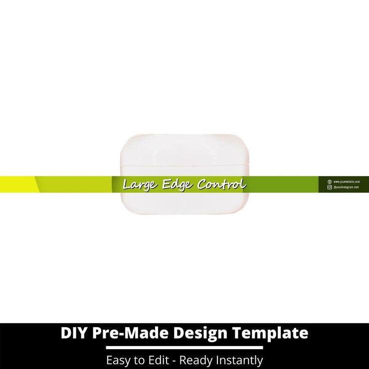 Large Edge Control Side Label Template 234