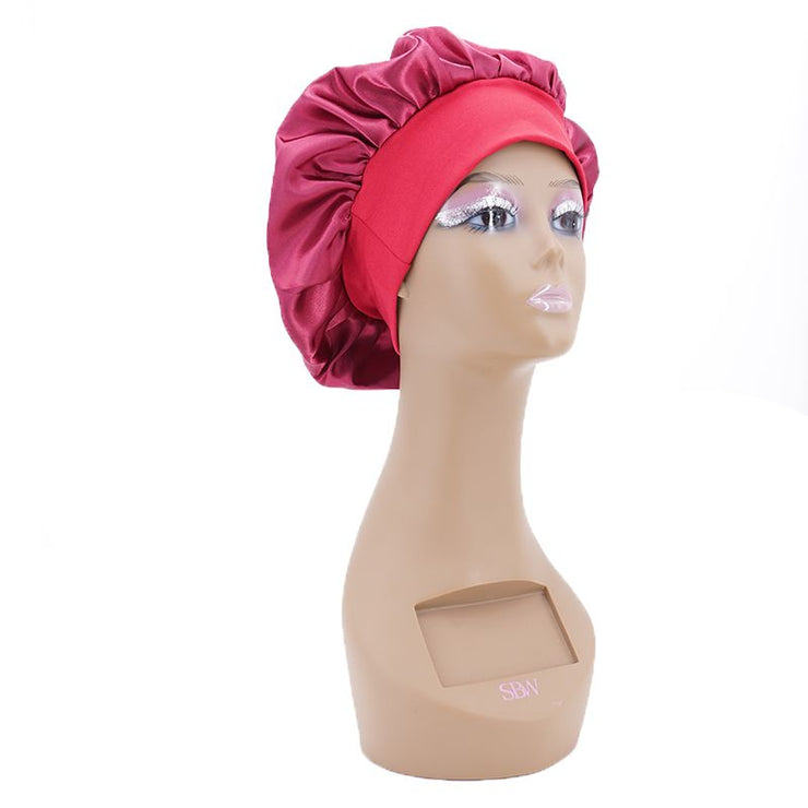 Custom Silk Hair Bonnets