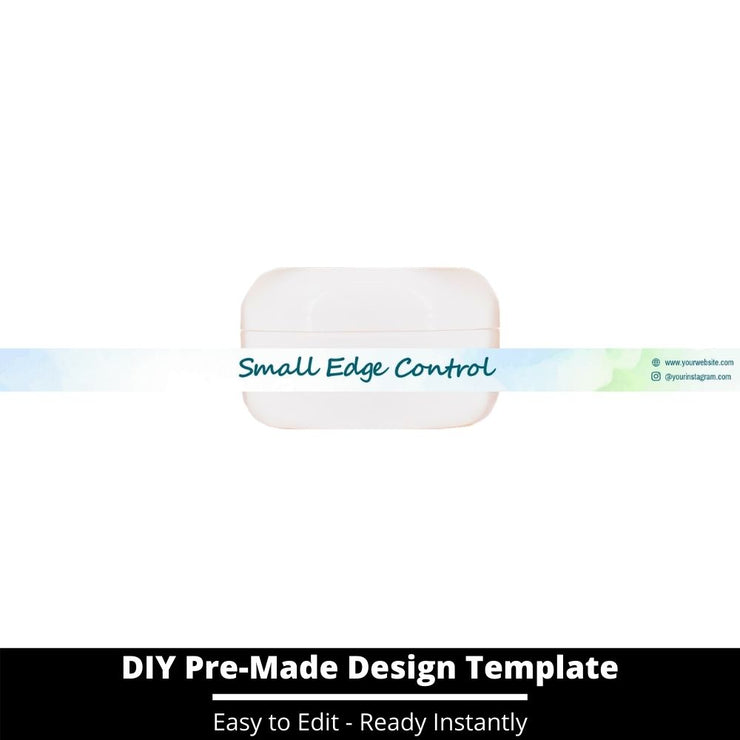 Small Edge Control Side Label Template 113