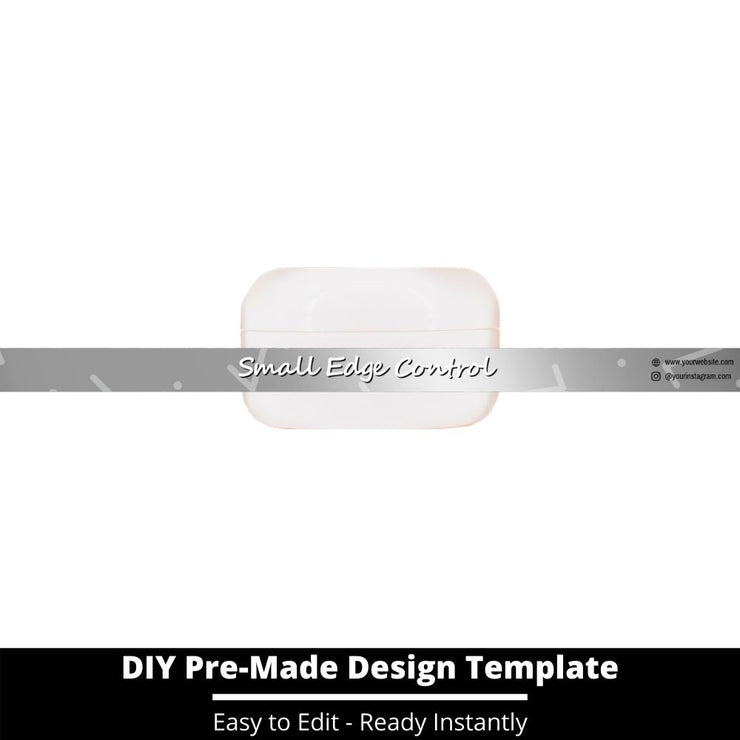Small Edge Control Side Label Template 224