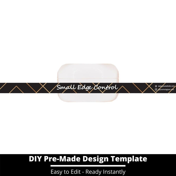 Small Edge Control Side Label Template 227