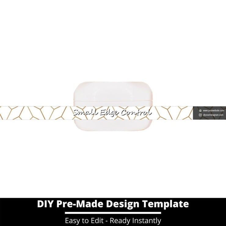Small Edge Control Side Label Template 229
