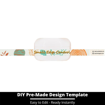 Small Edge Control Side Label Template 240