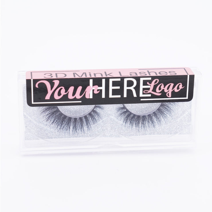 Custom Labels for 3D Mink Lashes