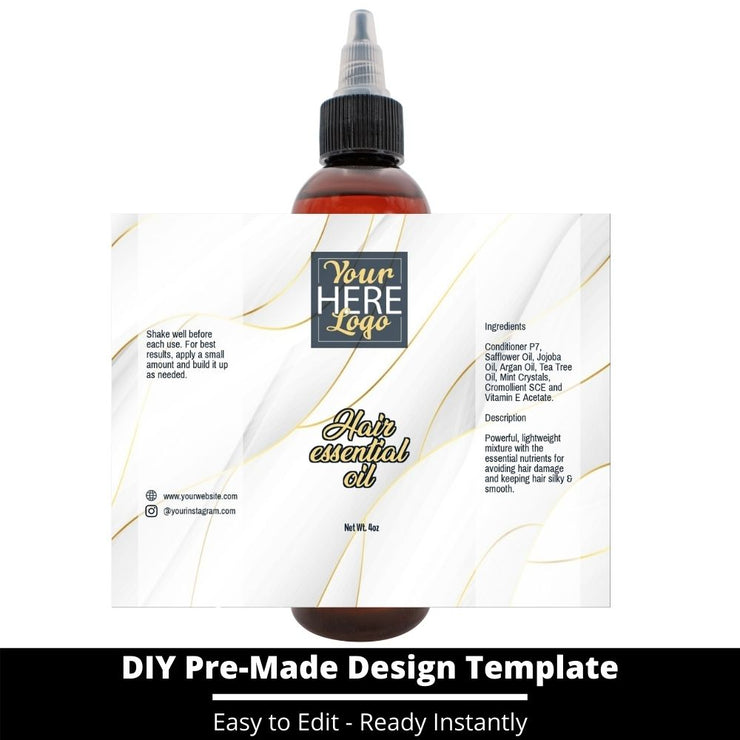 Hair Essential Oil Design Template 103