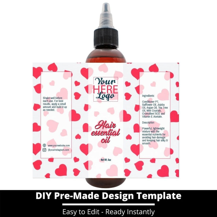 Hair Essential Oil Design Template 133
