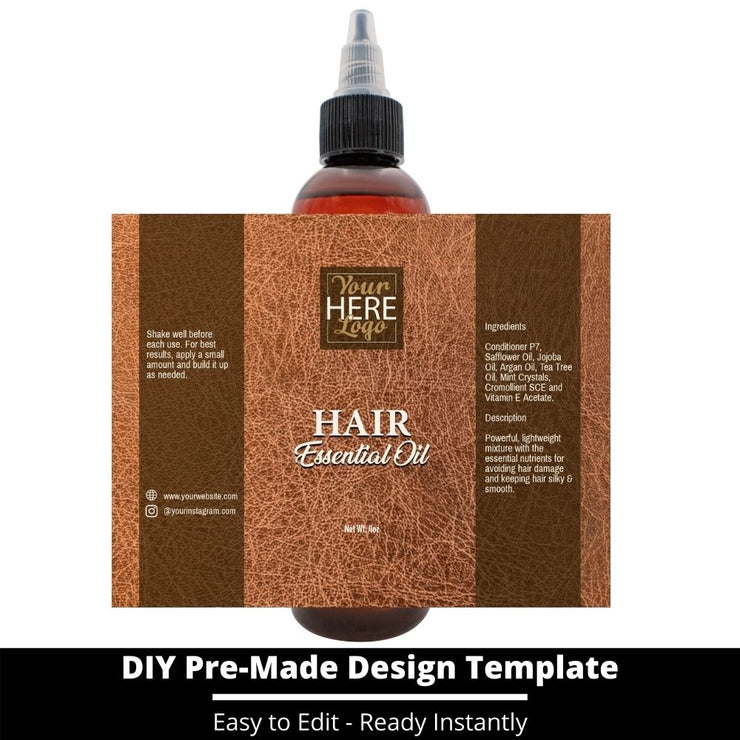 Hair Essential Oil Design Template 159