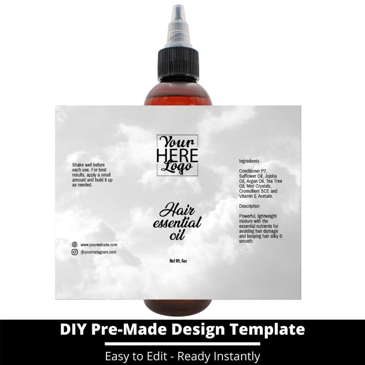 Hair Essential Oil Design Template 167