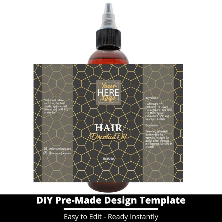 Hair Essential Oil Design Template 178