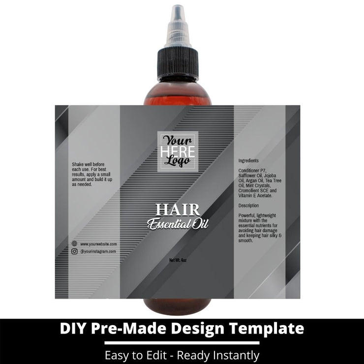 Hair Essential Oil Design Template 198