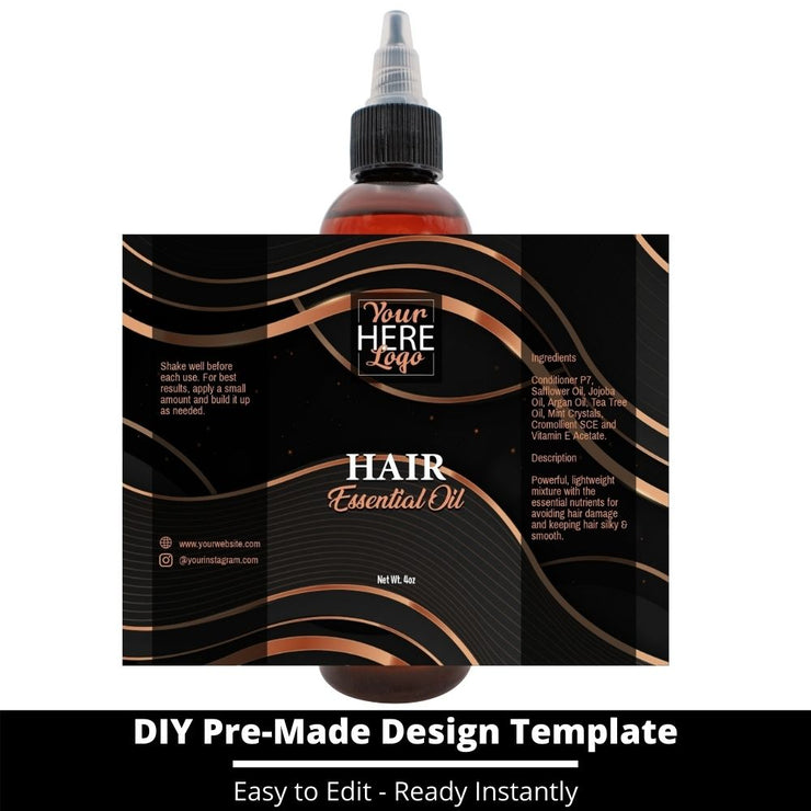 Hair Essential Oil Design Template 199