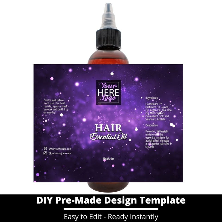 Hair Essential Oil Design Template 205