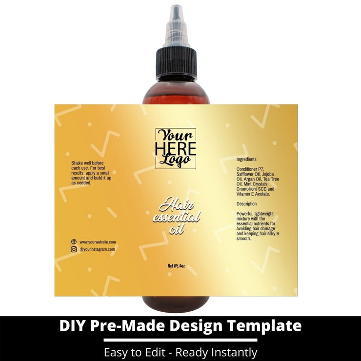 Hair Essential Oil Design Template 214